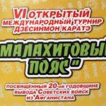 Малахитовый пояс-2008
