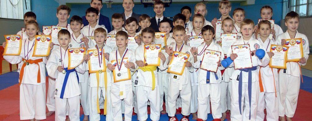 Новогодний турнир АГО по каратэ-до-2018